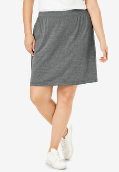 Stretch Cotton Skort,
