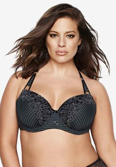 Essential Showstopper Bra by Ashley Graham®, BLACK, hi-res