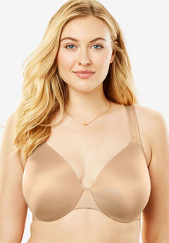 Microfiber Underwire T-Shirt Bra by Comfort Choice®, NUDE