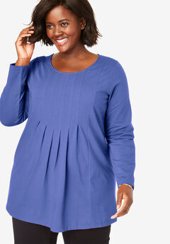 EveryWear Essentials™ Pleated Tunic,