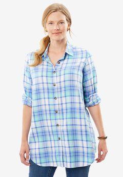 Classic flannel bigshirt,