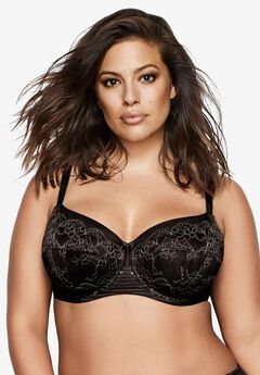 Essential Fatal Attraction Bra by Ashley Graham®, BLACK, hi-res
