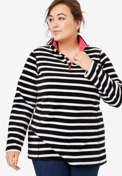 a11b7bdbf02 Plus Size Microfleece Jackets for Women