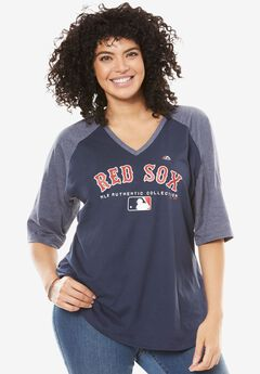 MLB Raglan Tee , RED SOX