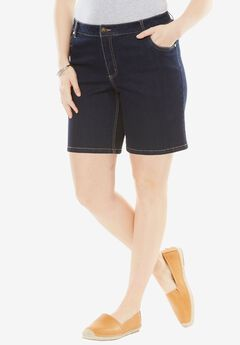 Stretch Jean Short,