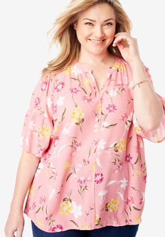 8f514439377 Plus Size Shirts   Blouses for Women