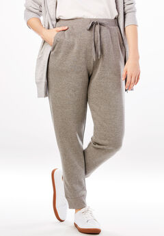 Fleece Jogger Sweatpant, MEDIUM HEATHER GREY, hi-res