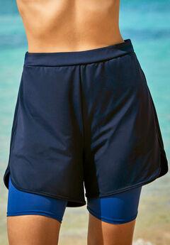 Colorblock Swim Boardshort,