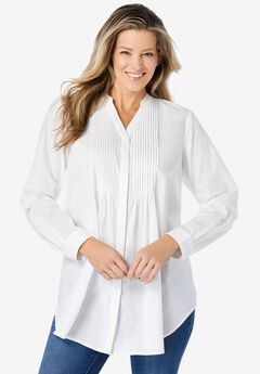 Perfect Pintuck Tunic,