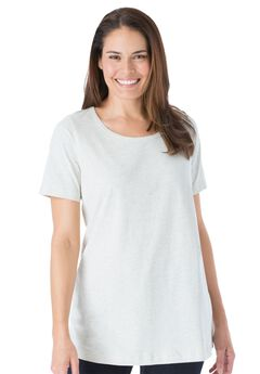 Perfect Scoop Neck Tee,