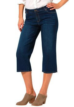 Capri Stretch Jean, MIDNIGHT SANDED