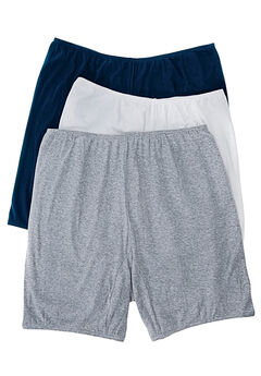 3-Pack Cotton Bloomer by Comfort Choice®, BASIC PACK, hi-res