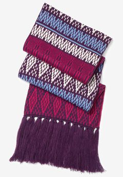 Woman Within® Nordic Scarf,