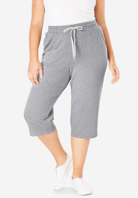 4953c0e30c91 Wide Leg Fleece Capri