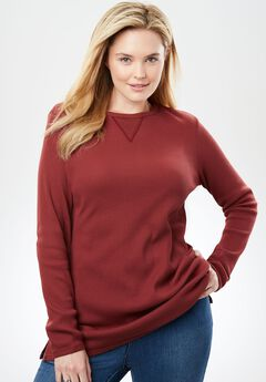 9d76a40b4effa Thermal Sweatshirt. Clearance  Up to 73% off