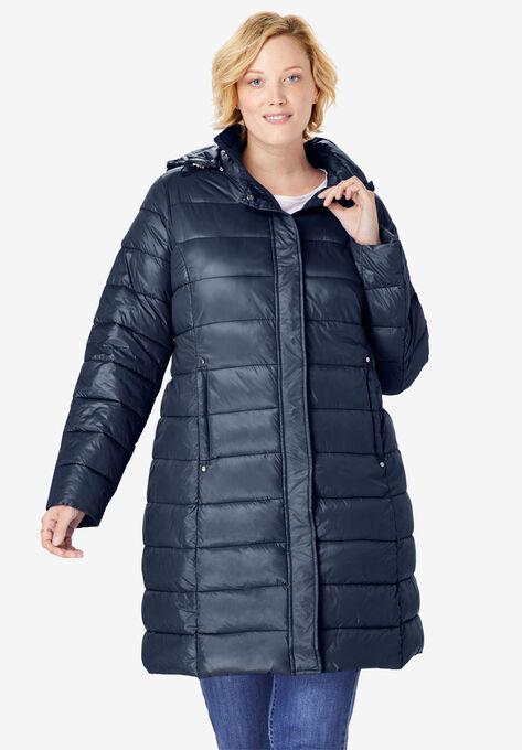 1a7170cd4ad Long Packable Puffer Jacket