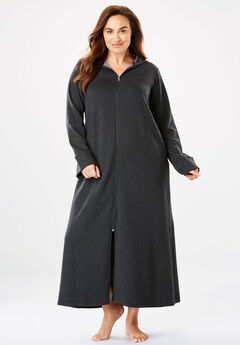 af90a34573d Hooded Fleece Robe by Dreams   Co.®