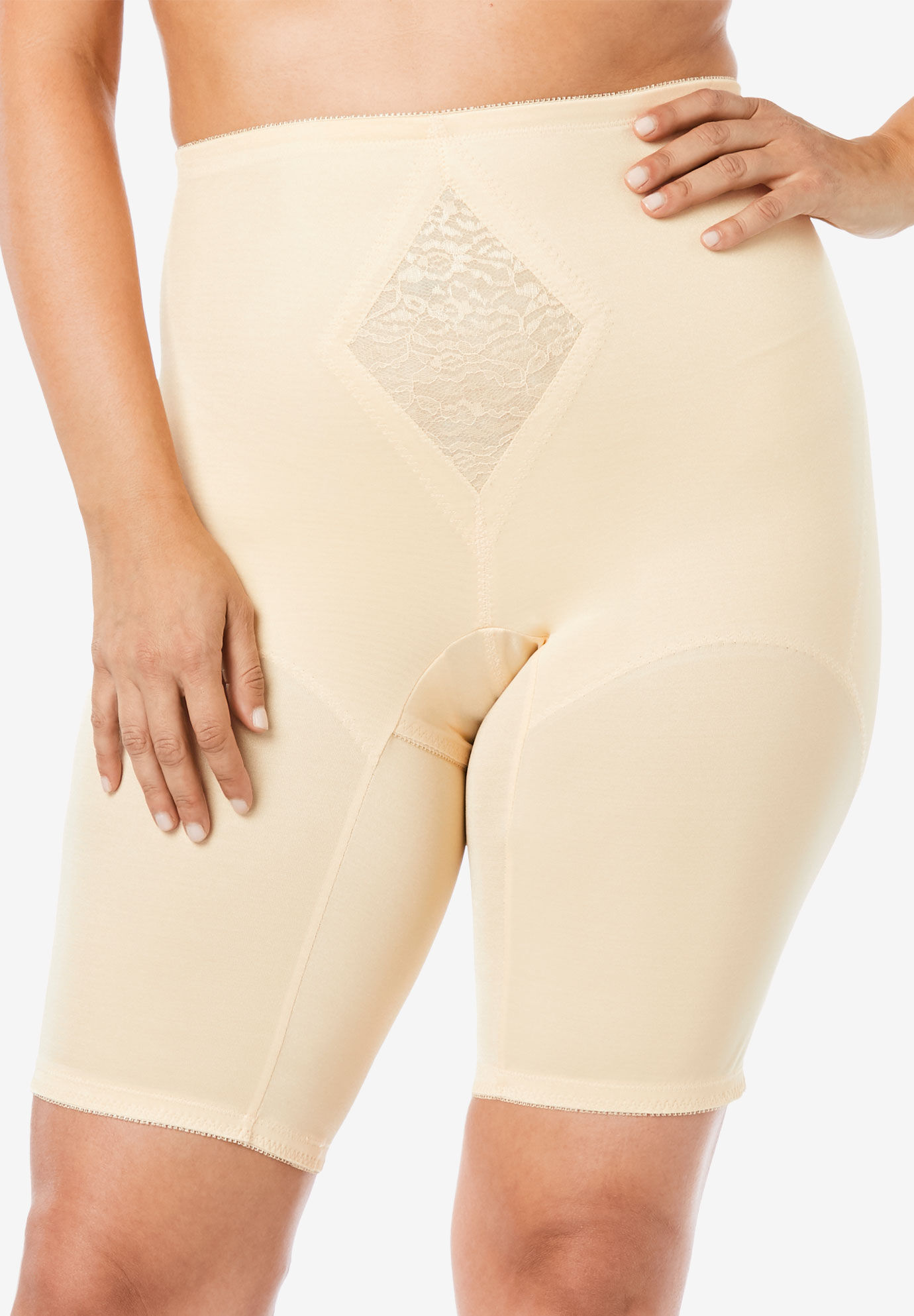 Rago Womens Extra Firm Shaping Thigh Slimmer