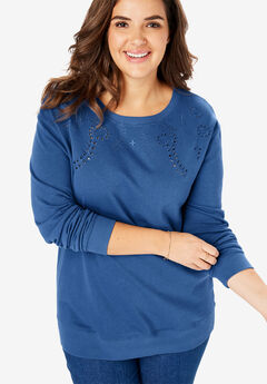 Plus Size Hoodies & Sweatshirts for Women | Woman Within