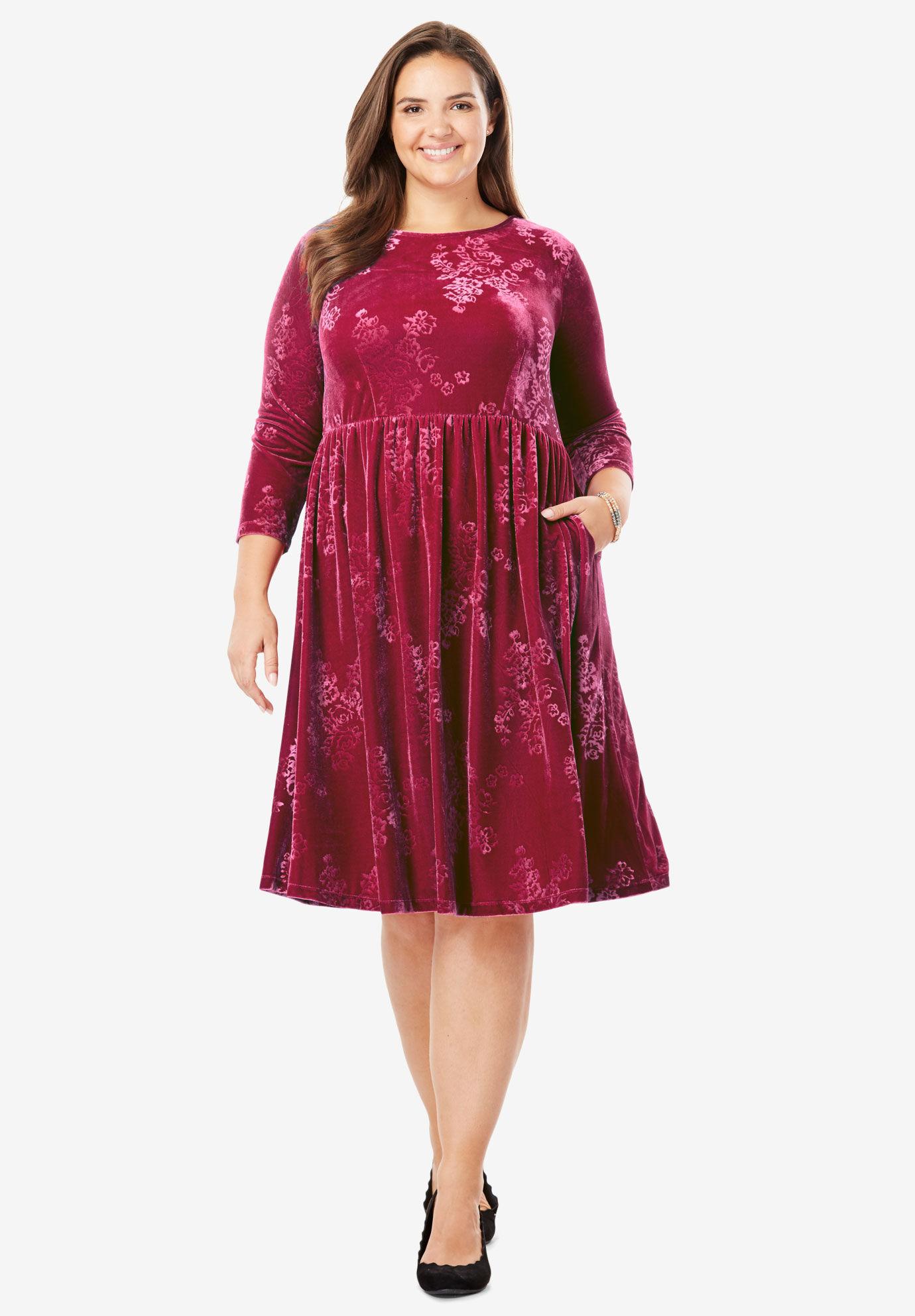 Velour Dresses