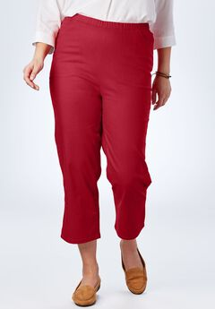Capri Fineline Jean, STRAWBERRY RED