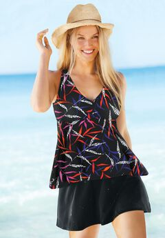 Flowy Tankini Top by Swim 365,