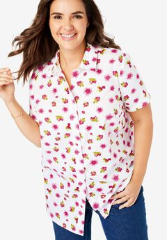 810737654 Plus Size Shirts & Blouses for Women | Woman Within