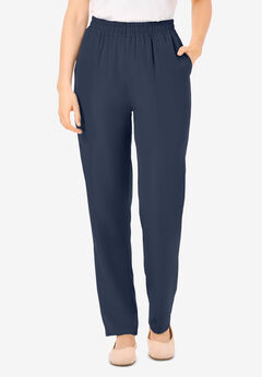 The No Hassle Elastic-Waist Pant,