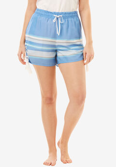 The Getaway Short with Tassels and Ruching,