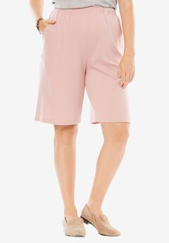 7-Day Knit Short, ROSE MIST, hi-res