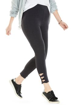 Side-Twist Capri,