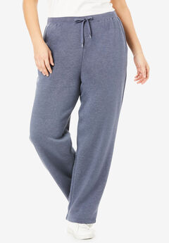 Better Fleece Sweatpant, HEATHER NAVY
