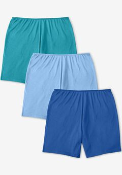 3-Pack Stretch Cotton Boxer, VIBRANT BLUE PACK