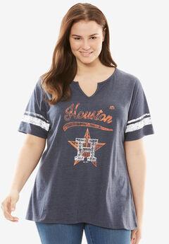 MLB® Notch V-neck tee, ASTROS, hi-res