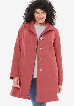 Classic trench raincoat, STRAWBERRY ROSE, hi-res