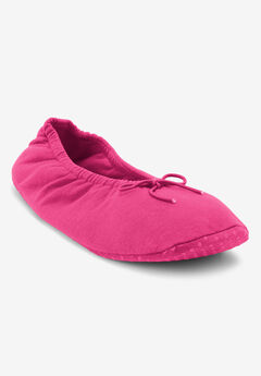 Knit Ballerina Slippers by Dreams & Co.®,