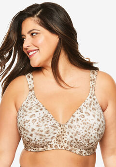 Leading Lady® Brigitte Full Coverage Seamless Underwire Bra 5028,