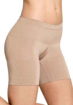Boxer shaper panty by Julie France®, NUDE, hi-res