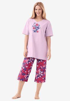 2-Piece Capri PJ Set by Dreams & Co.®,