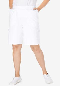 Pull-On Knit Cargo Short,