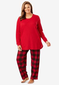 Thermal Sleep Set by Dreams & Co.®, CLASSIC RED CHECK