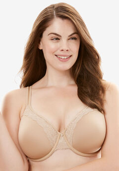 One Smooth U® Lace Lift Underwire Bra by Bali®, NUDE, hi-res