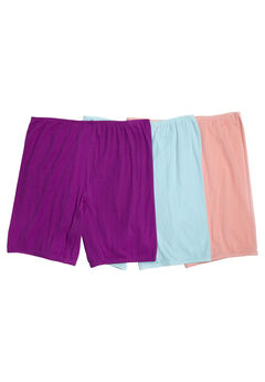 3-Pack Cotton Bloomer by Comfort Choice®,