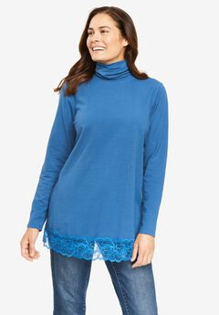 Lace-Trim Tunic,