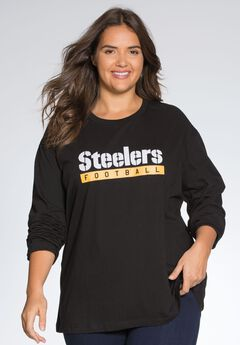 NFL® Women long sleeve tee, STEELERS, hi-res