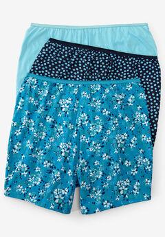 93614944b Plus Size Boy Shorts Panties for Women