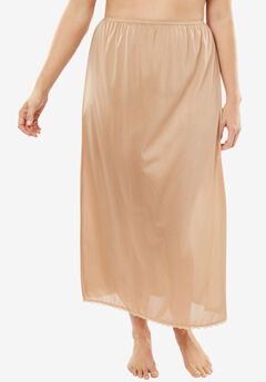 "2-pack 35"" half slip by Comfort Choice®, NUDE, hi-res"