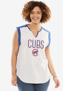 MLB Sleeveless Tee, CUBS, hi-res