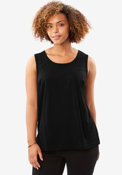 Perfect Tank Top, BLACK