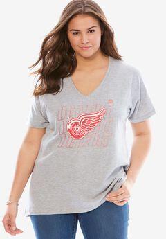 NHL Short-Sleeve Tee, RED WINGS